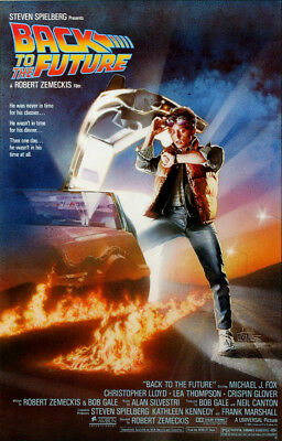 BACK TO THE FUTURE MOVIE POSTER (Size 24x36)
