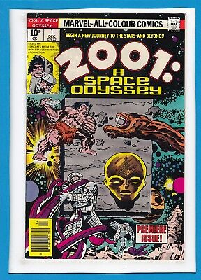 2001:a Space Odyssey #1_December 1976_Vf/nm_Premiere Issue_Jack Kirby_Uk!