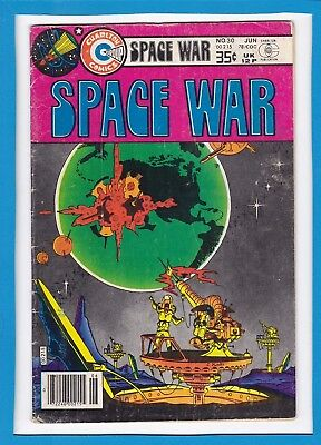 Space War #30_June 1978_Fine_Steve Ditko_Bronze Age_Charlton Comics!