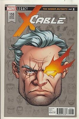Cable (2017) 150 NM/NM- Legacy Headshot Variant Cover