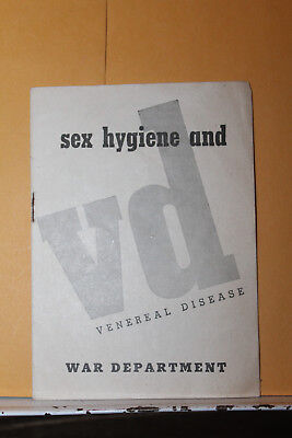 Sex and this war 1942 booklet