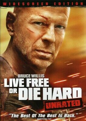 Live Free or Die Hard (Unrated Edition), Bruce Willis, Len Wiseman,Widescreen