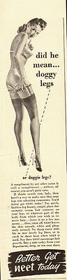 1941 Vintage Ad for Neet Today hair removal (030212)