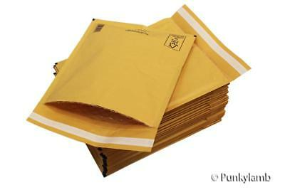 Gold A/000 Padded Bubble 110X165mm Envelopes Mail Postal Bags 24H Courier