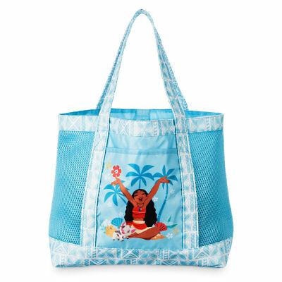 Disney Store Princess Moana Swim Backpack Bag Girls Tote NEW