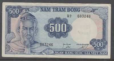 VIETNAM 500D Banknote In Good Condition