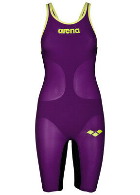 Arena - Carbon Air Woman Open - 1A646913 - Plum, Fluow Yellow