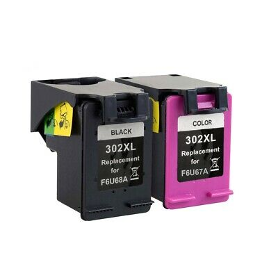 Black & Colour 302 XL Ink Cartridges for HP Envy 4520 4522 4523 4524 4527