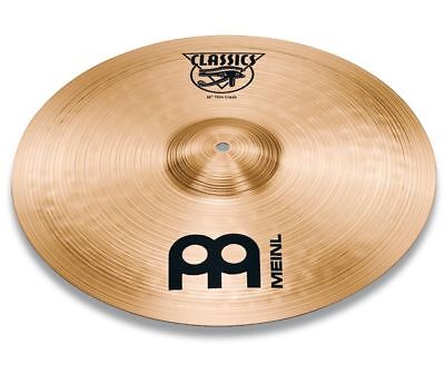 "Meinl 16"" Classics Thin Crash Cymbal C16TC"