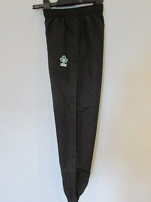 IRELAND RUGBY CUFFED TAPERED FLEECE PANTS BY CANTERBURY SIZE BOYS 10 YEARS NEW