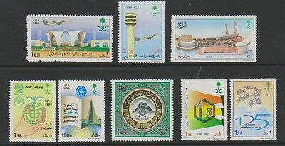 Saudi Arabia - 1999 Collection of 8 stamps - MNH - SG 1948/55