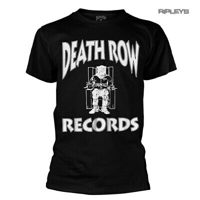 Official T Shirt DEATH ROW RECORDS Logo Record Music Company All Sizes