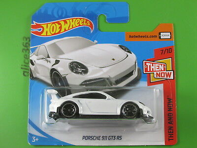 HOT WHEELS 2018 -   Porsche 911 GT3 RS  -  Then and Now  -  47  -  neu in OVP