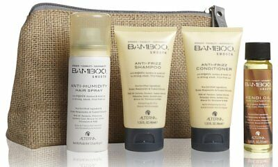 Alterna 7790 Bamboo Smooth On The Go Travel Set for Cultivate Smooth Sleek Hair