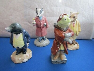 Wind In The Willows Beswick Ware   Toad  Ratty   Badger    Select From List