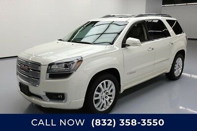 GMC Acadia Denali Texas Direct Auto 2015 Denali Used 3.6L V6 24V Automatic FWD SUV Bose Moonroof