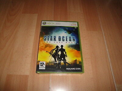 Star Ocean The Last Hope Rpg De Square-Enix Para La Xbox 360 Nuevo Precintado