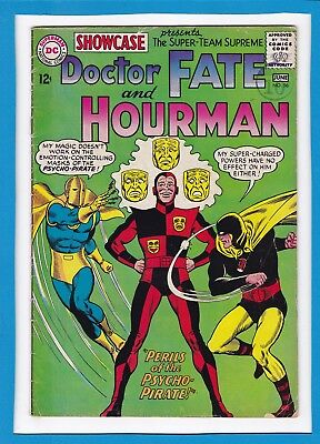 Showcase #56_June 1965_Very Good_Doctor Fate_Hourman_Silver Age Dc!
