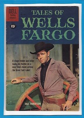 Tales Of Wells Fargo #1167_May 1961_Vg Minus_Dell Exciting Adventure Comics!