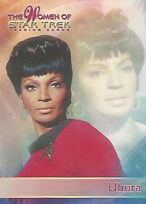 Women of Star Trek   P2  PROMO CARD : UHURA