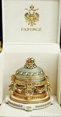 Faberge Cradle With Garlands Egg Box Papers 7in Height Exquisite 1907 Design
