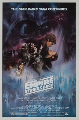 STAR WARS - THE EMPIRE STRIKES BACK - MOVIE POSTER (Size 24x36 inches)