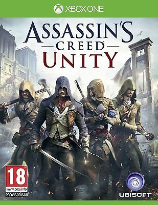 Xbox One Game Assassin's Creed Unity NEW