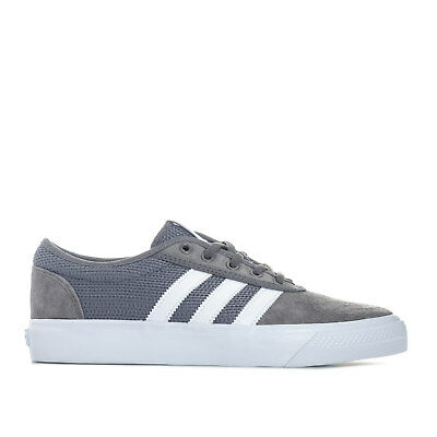 Mens adidas Originals Adi-Ease Trainers In Grey White From Get The Label