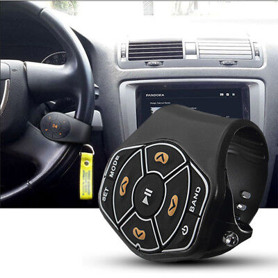 Universal Wireless Steering Wheel Button Remote Control For Car Stereo DVD