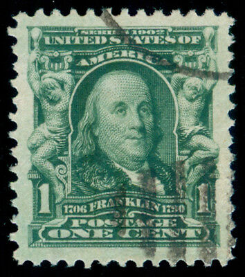 Momen: Us Stamps #300 Used Pse Graded Cert Xf-Sup 95J