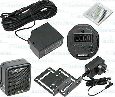 Door Entry Alarm Alert System Access Security Shop Detector Chime + Counter
