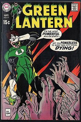 """Green Lantern (1960) #71 VF (8.0) """"The City That Died"""""""