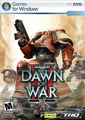 SEALED NEW Warhammer 40,000 Dawn of War II 2 PC Computer Strategy Game Frontline