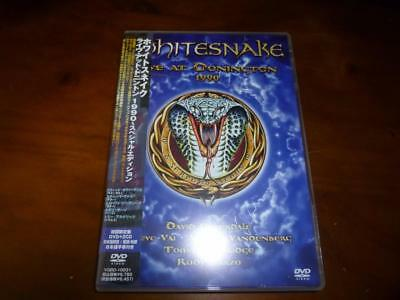 Whitesnake / Live At Donington 1990 JAPAN DVD+2CD A