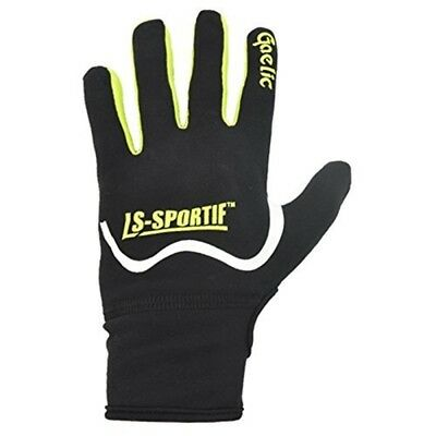 Ls Famous Gaelic Gloves - Adult - Black/lime - Small