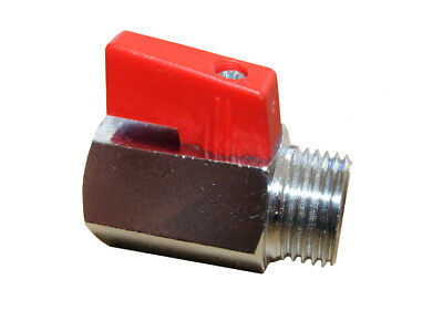 Mini Ball Valve with Interior and External Thread