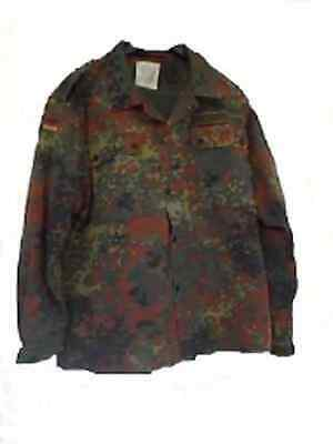 German Army BW Spotted Camo Shirt Outdoor Camouflage Jacket Size 8