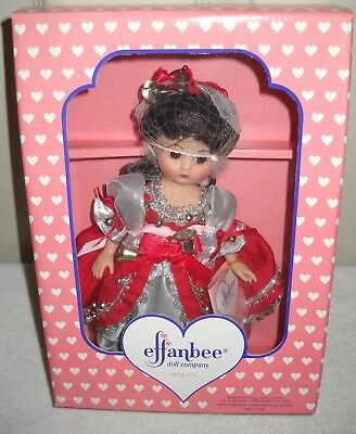 #9683 NRFB Vintage Effanbee JC Penney Exclusive Silver Bells Christmas Doll