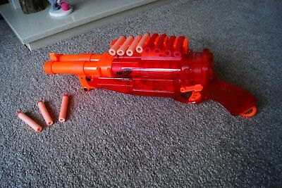 Nerf N-Strike Elite Sonic Fire Red 2 Barrel With 11 Bullets