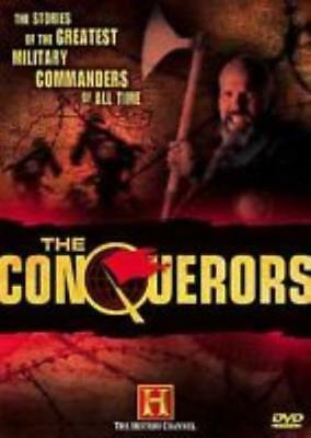 The Conquerors 3-Disc Set DVD VIDEO MOVIE History Channel documentary battles