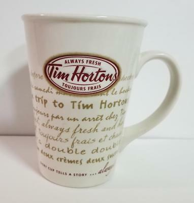 Tim Hortons Limited Edition 2009 Coffee Mug Cup Road Trip Every Cup Tells #009