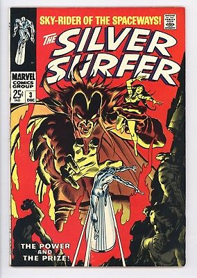 Silver Surfer #3 Vol 1 Super High Grade 1st Appearance of Mephisto
