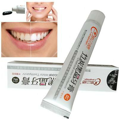 50g Bamboo Charcoal Black Toothpaste Teeth Whitening Cleaning Hygiene Oral Care