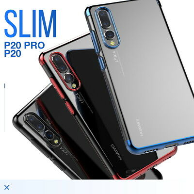 Huawei P20 Pro Lite Case Slim Clear Soft Bumper Shockproof Thin Back Cover
