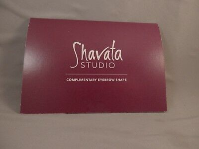 Voucher For Complimentary Eyebrow Shape At Shavata Studio Worth £18