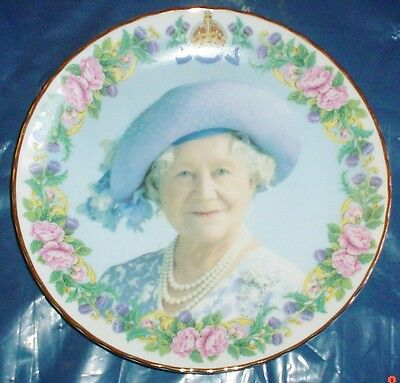 Collectors Plate Showing THE QUEEN MOTHER