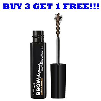 Maybelline Eyebrow Brow Drama Mascara 7.6ml Medium Brown