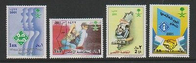 Saudi Arabia - 2001 Collection of 4 stamps - MNH - SG 2029/31, 2042