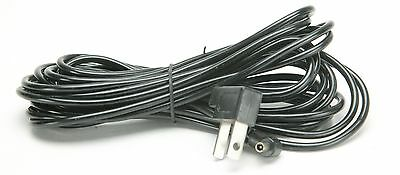 17,5' Sync Cord With Fork & Male Connectors. Useful. Hard To Find Long Sync.