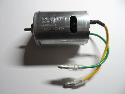 New Mabuchi RS540SH/RS540-SH 27T 540 Silver Can Motor For Tamiya Hornet,Frog etc